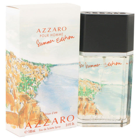 Azzaro Summer by Loris Azzaro Eau De Toilette Spray 3.4 oz Men