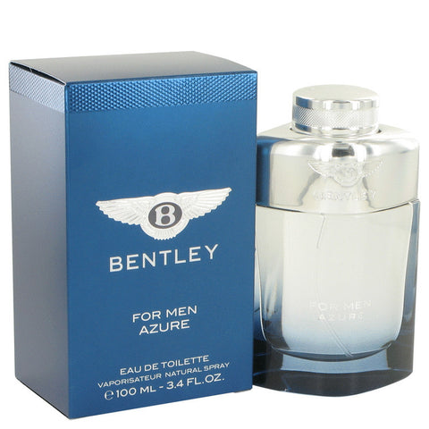 Bentley Azure by Bentley Eau De Toilette Spray 3.4 oz Men