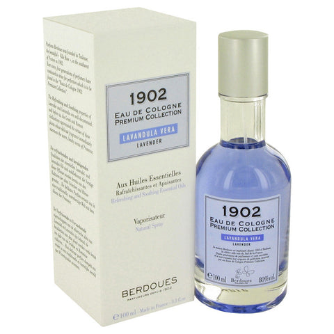1902 Lavender by Berdoues Eau De Cologne Spray 3.3 oz Men