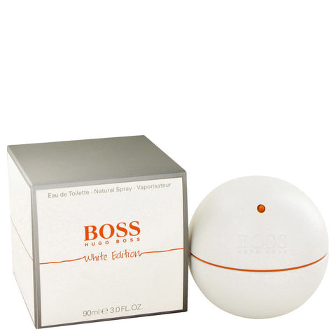 Boss In Motion White by Hugo Boss Eau De Toilette Spray 3 oz Men