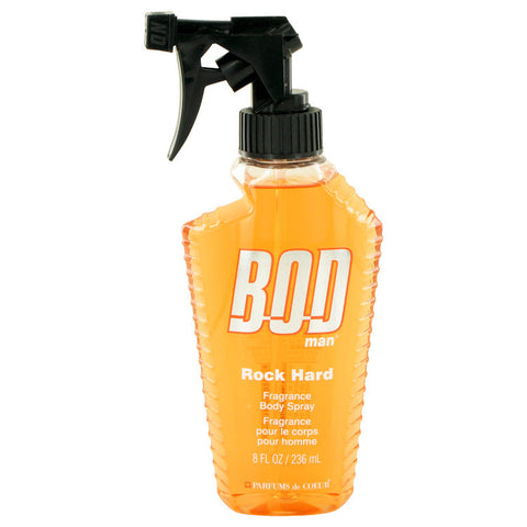 Bod Man Rock Hard by Parfums De Coeur Body Spray 8 oz Men
