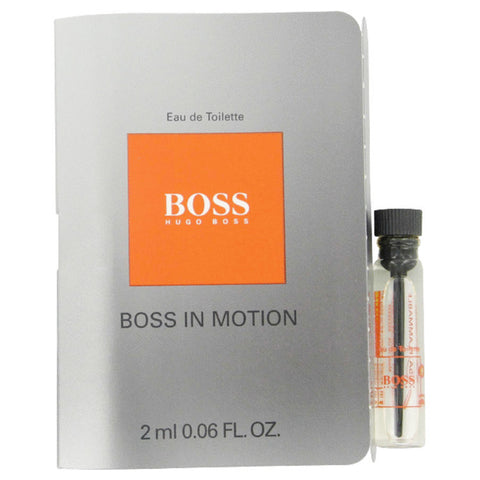 Boss In Motion by Hugo Boss Vial (sample) .05 oz Men