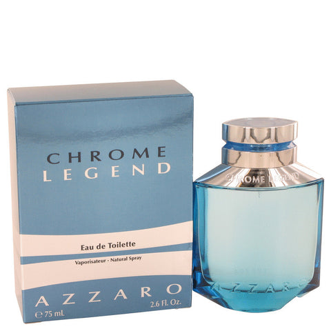 Chrome Legend by Azzaro Eau De Toilette Spray 2.6 oz Men