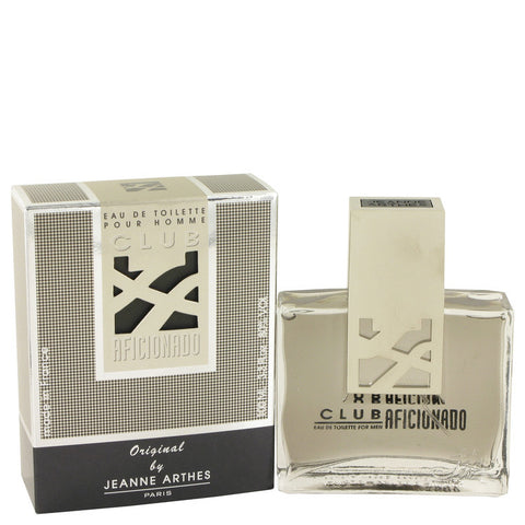 Club Aficionado Cologne by Jeanne Arthes EDT Spray 3.4 oz Men