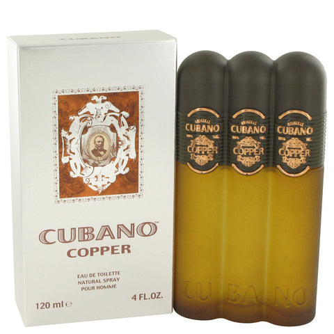 Cubano Copper by Cubano Eau De Toilette Spray 4 oz Men
