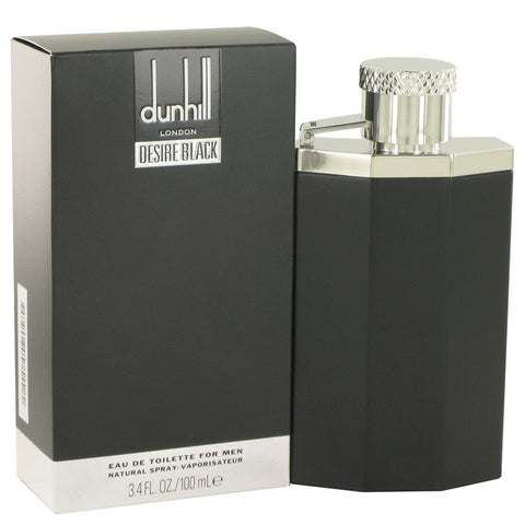 Desire Black London by Alfred Dunhill Eau De Toilette Spray 3.4 oz Men