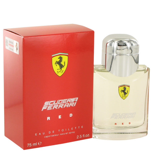Ferrari Scuderia Red by Ferrari Eau De Toilette Spray 2.5 oz Men - Fragrance And Gift