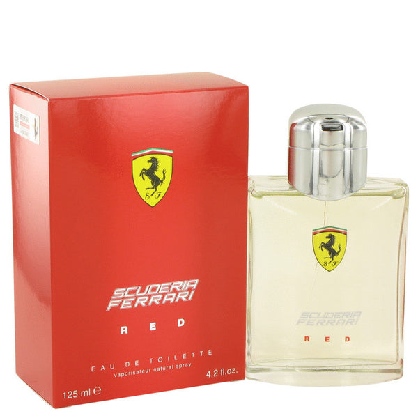 Ferrari Scuderia Red by Ferrari Eau De Toilette Spray 4.2 oz Men - Fragrance And Gift