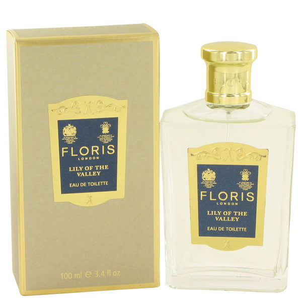 Floris Lily of The Valley by Floris Eau De Toilette Spray 3.4 oz Women - Fragrance And Gift