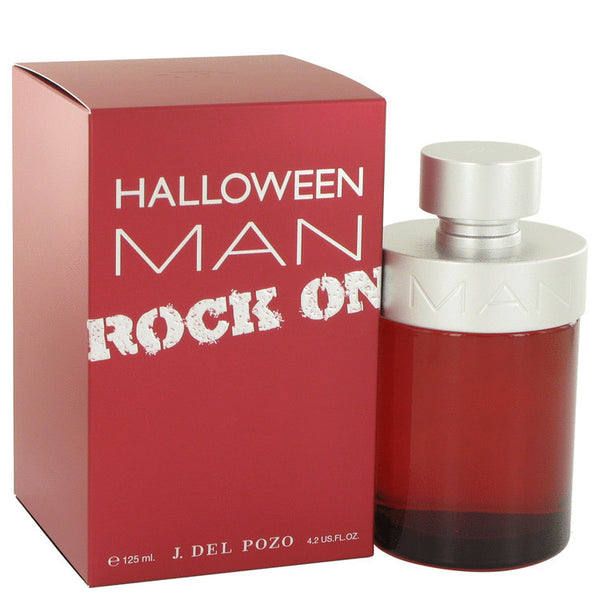 Halloween Man Rock On by Jesus Del Pozo Eau De Toilette Spray 4.2 oz Men - Fragrance And Gift