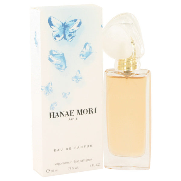 HANAE MORI Perfume by Hanae Mori EDP Spray (Blue Butterfly) 1 oz Women - Fragrance And Gift