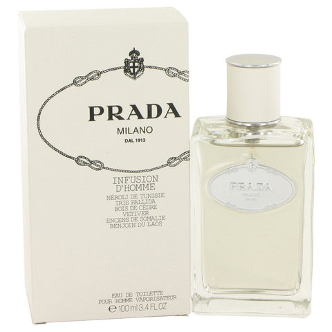 Infusion d'Homme Cologne by Prada EDT Spray 3.4 oz Men
