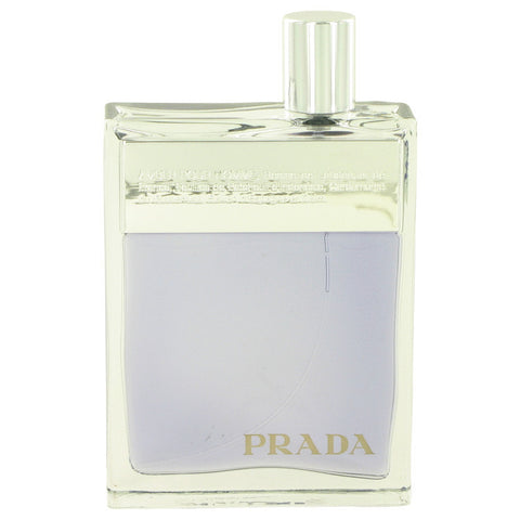 Prada Amber by Prada Eau De Toilette Spray (Tester) 3.4 oz Men