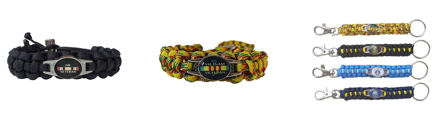 ARMED FORCES PARACORD BRACELET