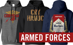 Armed Forces Hoodies