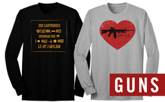 Long Sleeve Gun Tees
