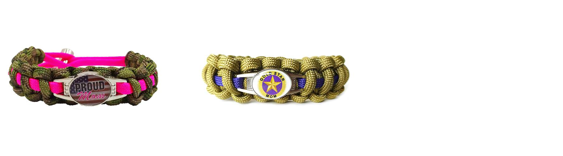 MILITARY MOMS PARACORD BRACELET