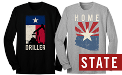 State Long Sleeve tees