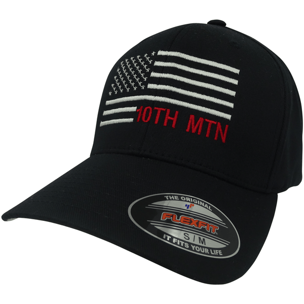10th Mtn Flag Cap