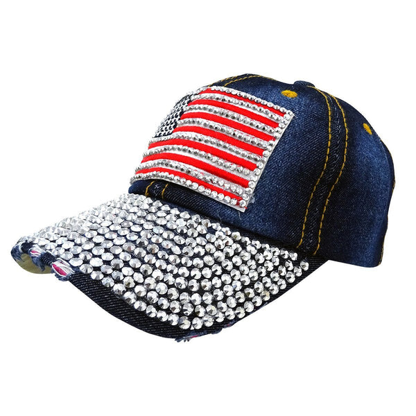 Bedazzled Victory Service Dog Cap