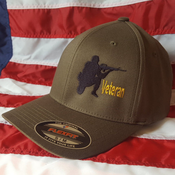 Veteran Bulls Eye Hat