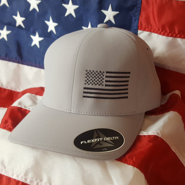 Golf Seamless Flexfit Delta Side Flag Hat