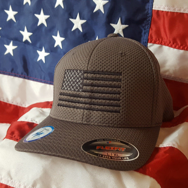 Flexfit Cool and Dry Flex Jersey Flag Hat
