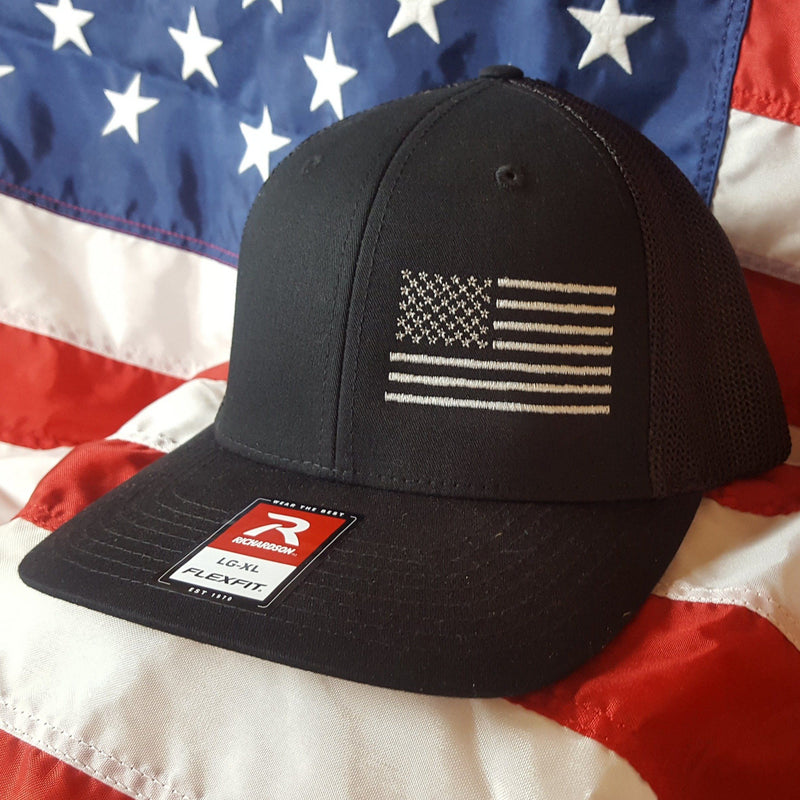 The Richardson Fitted Trucker Side Flag Hat