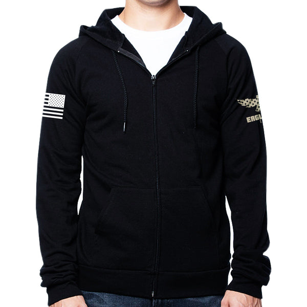 Stealth American Made Zip up Hoodie - Limited