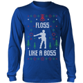 Floss Like A Boss Ugly Christmas Sweater