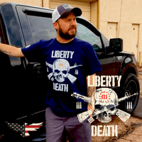 Threeper Liberty or Death