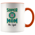 Personalized Super Coast Guard Mom 11oz Mug