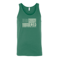 R.E.D - Remember Everyone Deployed US Flag Tank Top