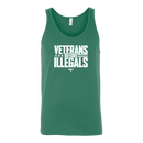 Veterans Before Illegals Tank Top