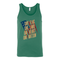 One Flag, One Land, One Heart, One Nation Tank Top