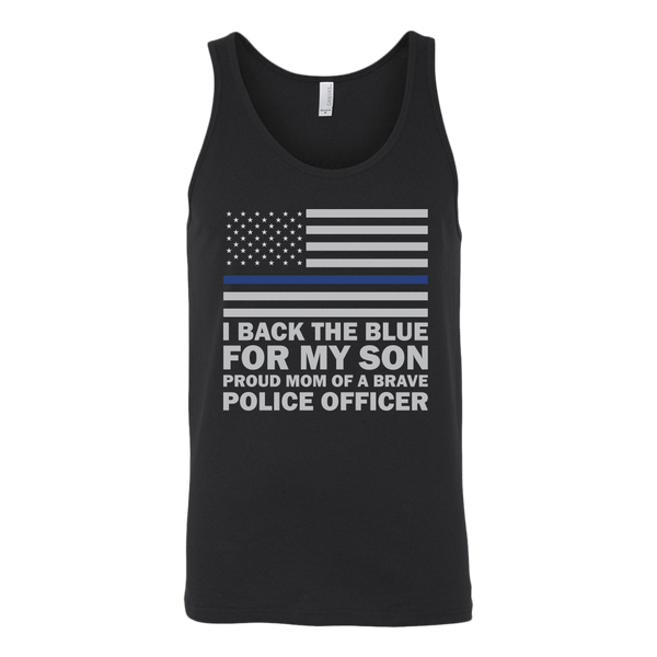 Proud Police Mom Tank Top