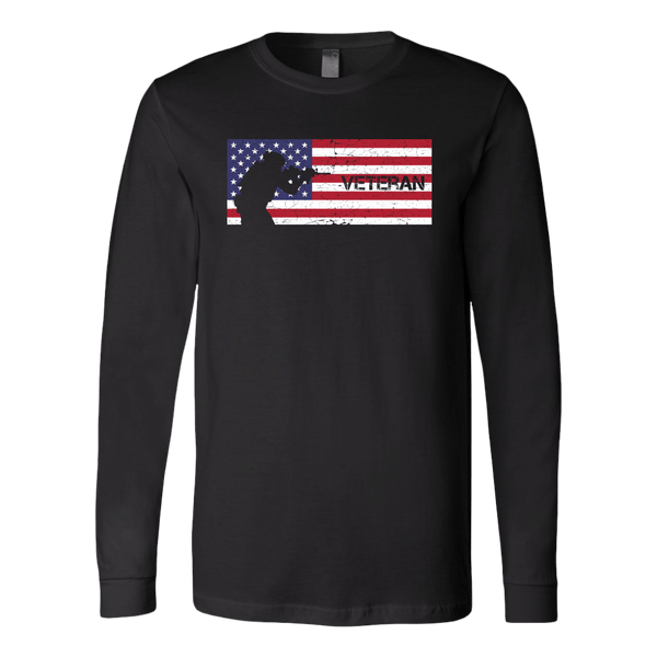 Veteran Flag USA Long Sleeve