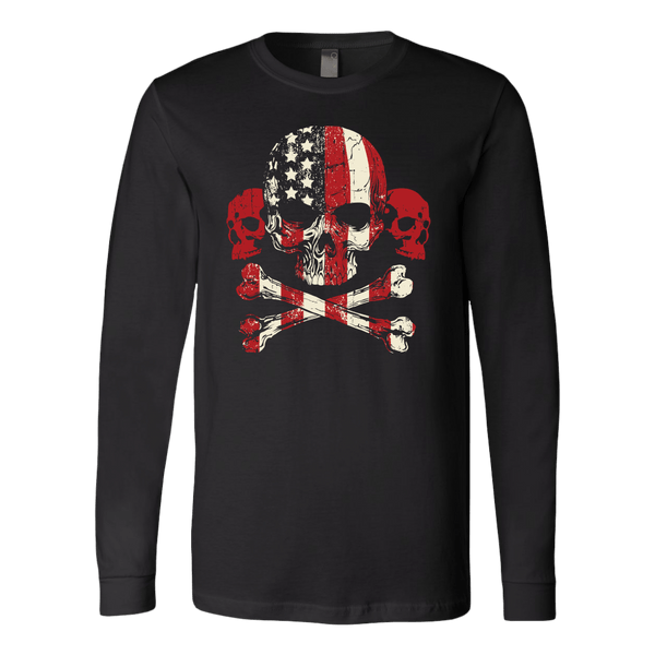 Gadsden's Skulls Long Sleeve