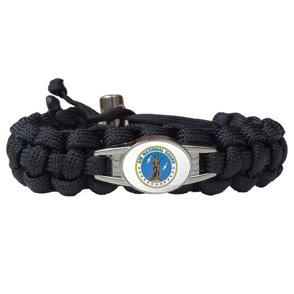 Air National Guard Paracord Survival Bracelet
