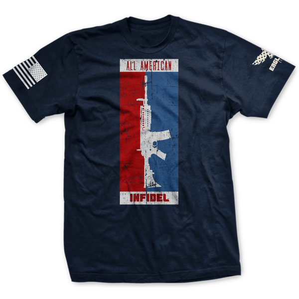 All American Infidel AR15 Tee