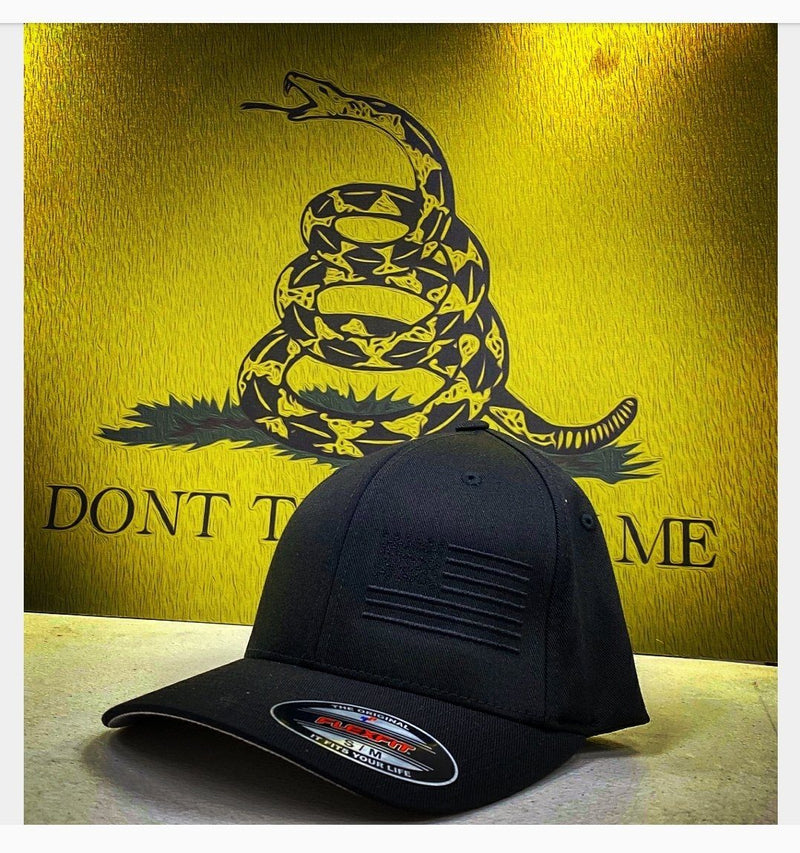 The American Side Flag Blackout Hat