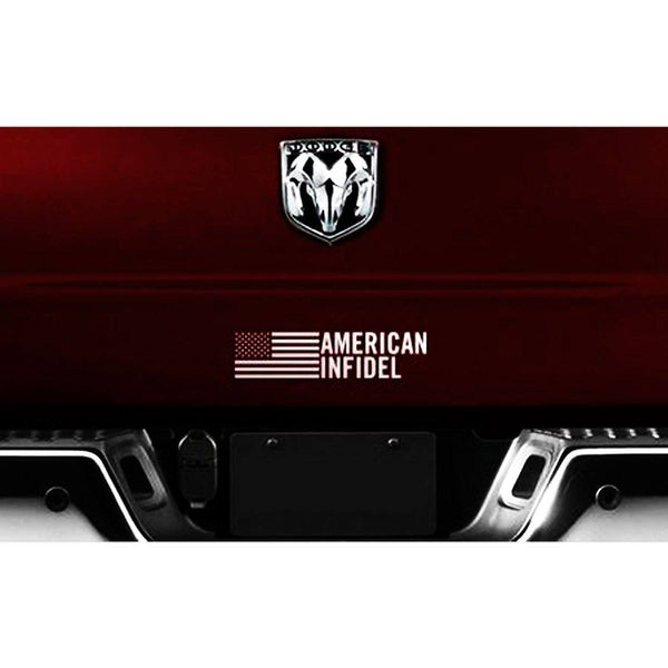American Infidel Decal