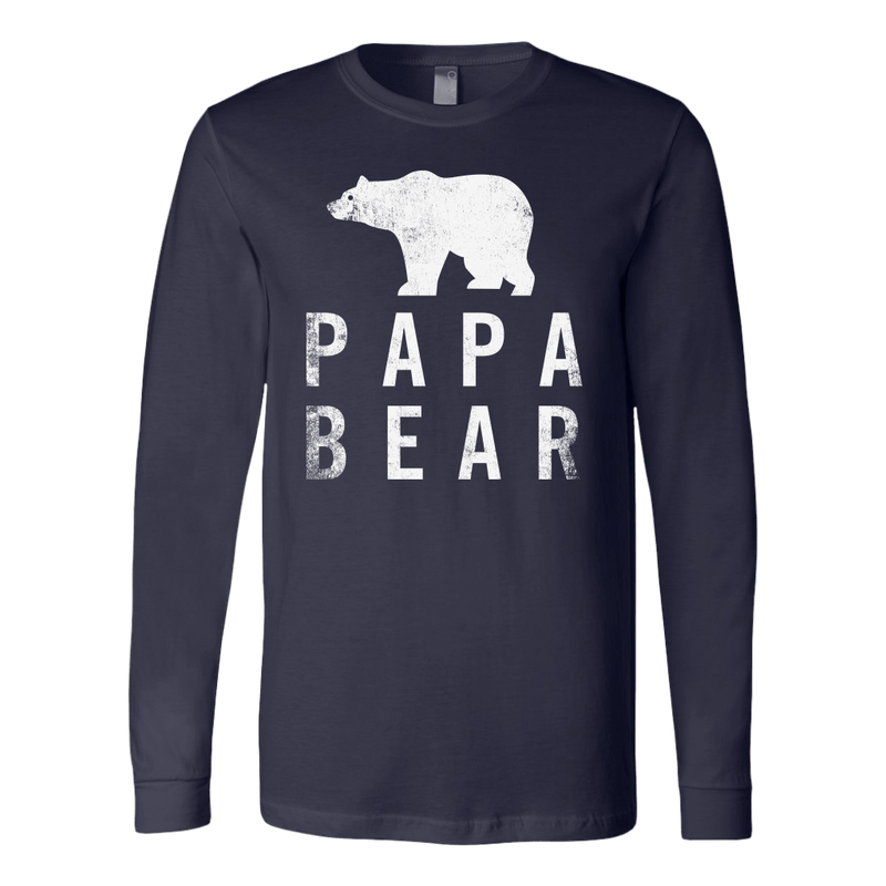 Papa Bear Long Sleeve