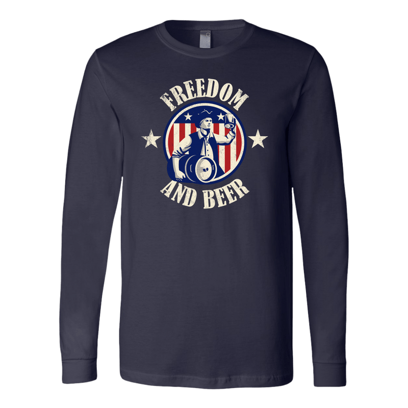 Freedom And Beer Long Sleeve
