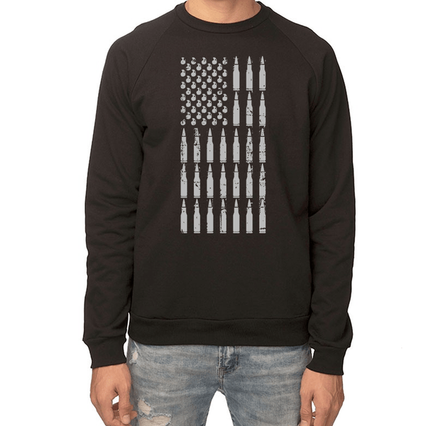 Armed American Flag Sweatshirt