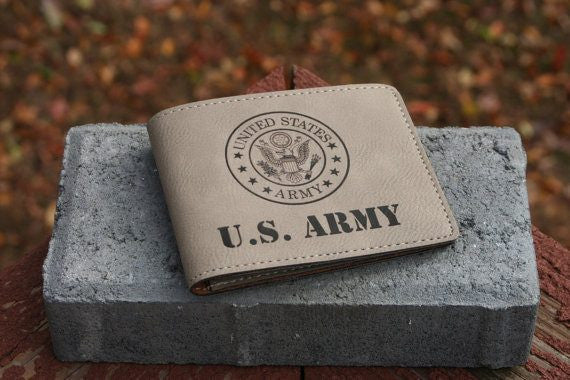 US Army Leather Wallet