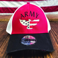 Army Eagle Vintage Mesh Hat