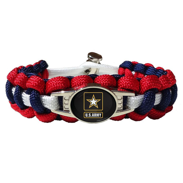 Army Paracord Survival Bracelet