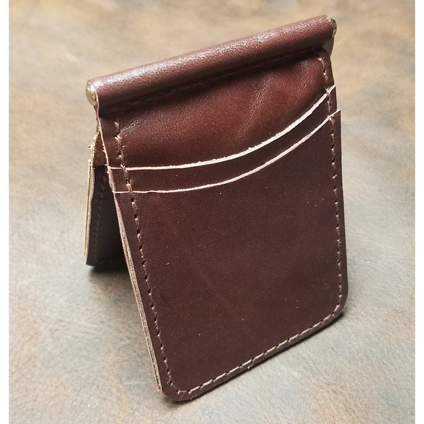 Fearless Threeper Handmade Leather Wallet
