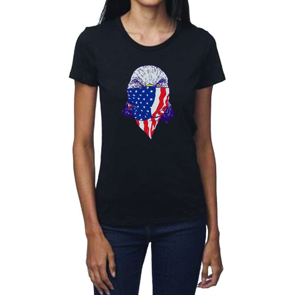 Bandana Eagle Women's Crew Neck Tee